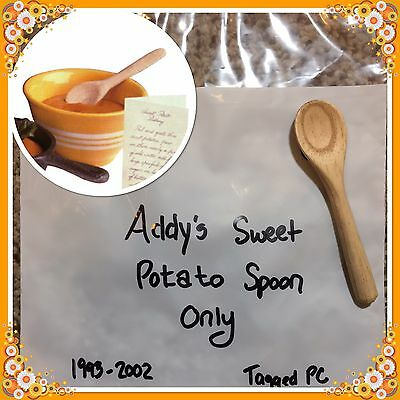 4 American Girl Wooden Spoons Kirsten Addy Sweet Potato Pudding Pleasant Company