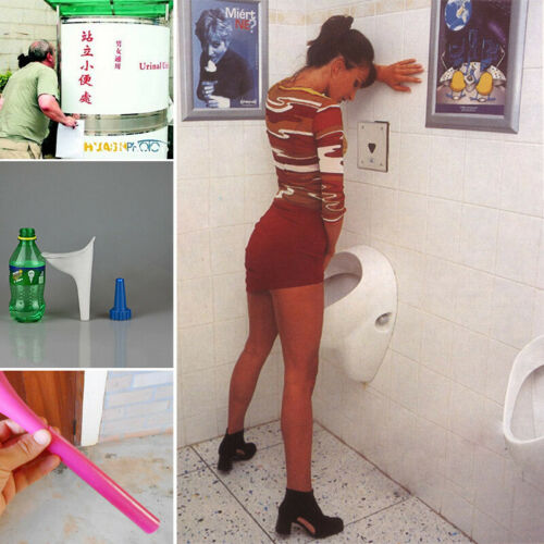 Portable Stand Up and Pee Women Urinal Toilet Female Silicone Urination Device