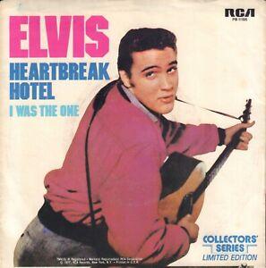 ELVIS-PRESLEY-Heartbreak-Hotel-I-Was-The-One-1977-US-SINGLE-7-034-REISSUE