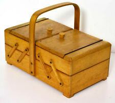 Vintage Fold Out Sewing Working Tool Box [PL3195]