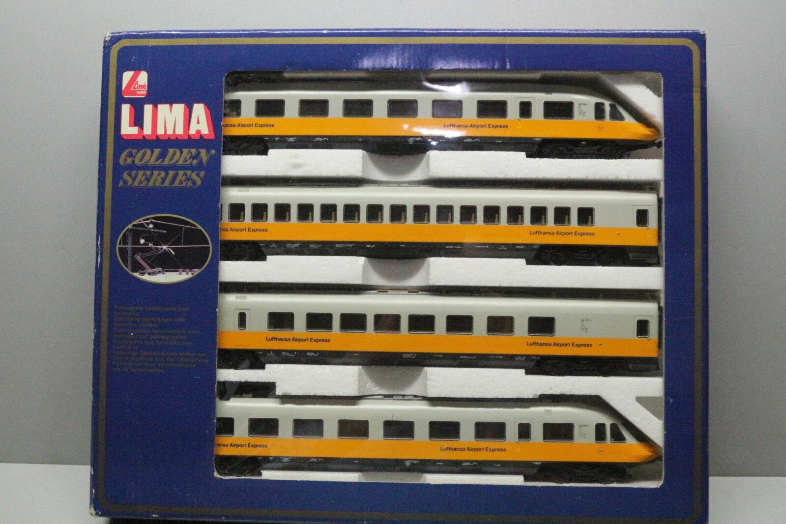Lima 149748 GP Triebwagenzug ET 403 Lufthansa Airport -Express Spur H0 OVP