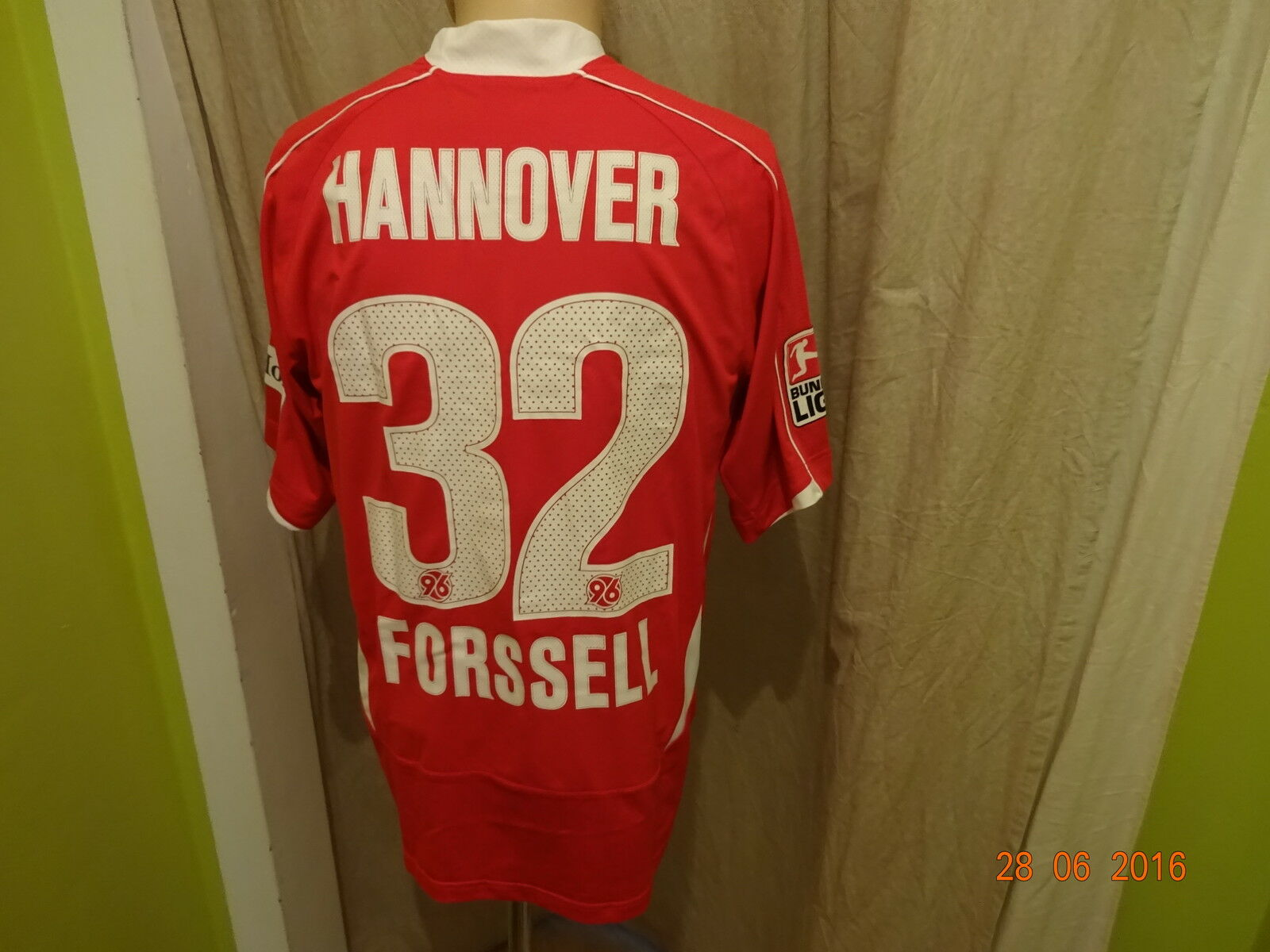 Hannover 96 Original Under Armour Trikot 2008/09