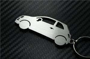 Details About Fiat 500 Keyring Car