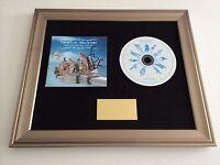 SIGNED/AUTOGRAPHED NEWTON FAULKNER - HAND BUILT BY ROBOTS FRAMED CD PRESENTATION