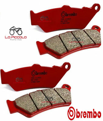 07BB37SC 4 FRONT BRAKE PADS BREMBO SC FOR DUCATI DIAVEL CARBON 1200 2011 2012