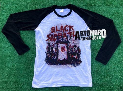 BLACK SABBATH Mob Rules Vtg Tour Concert shirt Raglan Ozzy Osbourne REPRINT