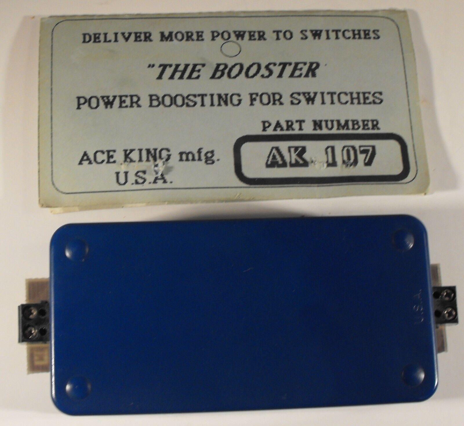 ACE KING AK107 MODEL RAILROAD POWER BOOSTER