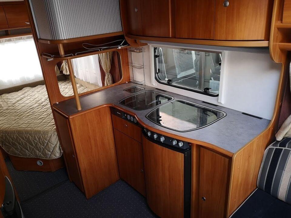 Dethleffs Beduin 510 DB, 2007, kg egenvægt 1075