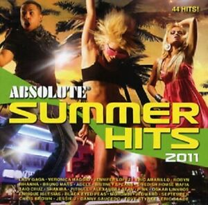 """Various Artists - """"Absolute Summer Hits 2011"""" - 2011"""