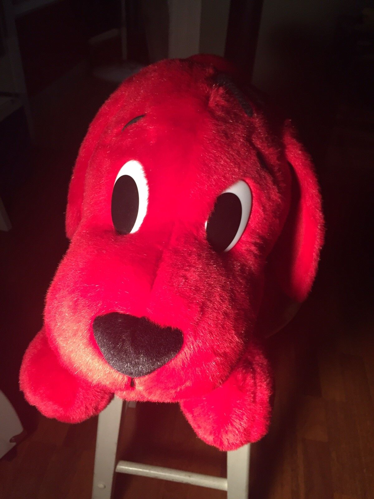 Jumbo Rare Barking Clifford The Big rot Dog Scholastics Stuffed Animal 26