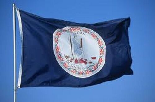 Commonwealth of Virginia State Flag Banner 5x8 foot 5ft x 8ft 150D SuperPoly