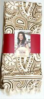 8 Pk Rachael Ray Cucina Kitchen Dish Towels Set (tan/cream) Cotton 16x26