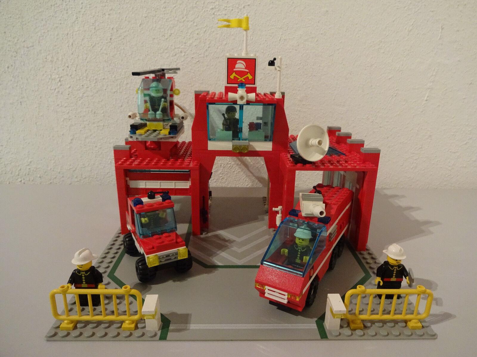 (Tb) Pays 6389 Pompier Caserne de Pompiers avec Ba 100% Complet D'Occasion Top
