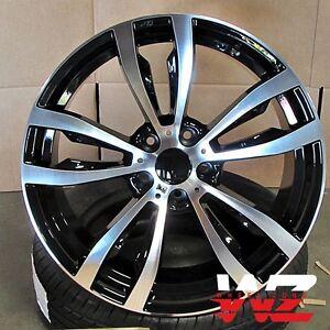 20 468 Style Black Machined Wheels Fits Bmw X5 X6 Xdrive 35d 30i
