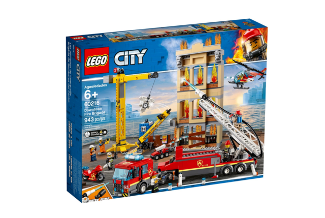 LEGO CITY__Downtown Fire Brigade __#60216 __943pcs __NEW SEALED__SHIPPING FREE !