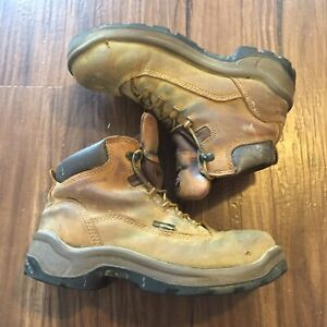 Leather Steel Toe Work Boots 2327