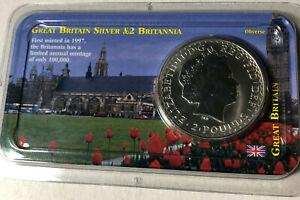 Pound 1 Ounce Silver Coin Unc