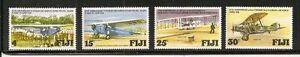 Album-Treasures-Fiji-Scott-385-388-Trans-Pacific-Flight-MNH