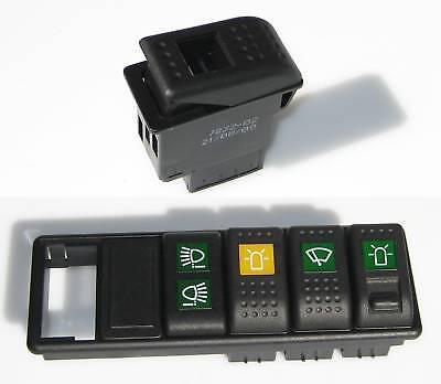 Schalter 12 24 V Wippenschalter  Hella 2-stufig 7832-16 Pkw Lkw Auto Fahrzeug