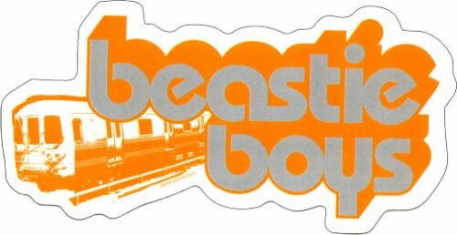 15787 Beastie Boys Train Logo Rap Rock Band Music MCA Mike D Sticker Decal New
