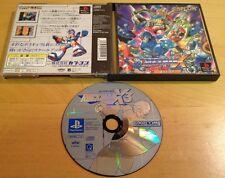 ROCKMAN X3 NTSC-J JAPANESE JAPAN for SONY PS1, PS2 & PS3 RARE by Capcom