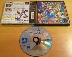 ROCKMAN-X3-NTSC-J-JAPANESE-JAPAN-for-SONY-PS1-PS2-amp-PS3-RARE-by-Capcom
