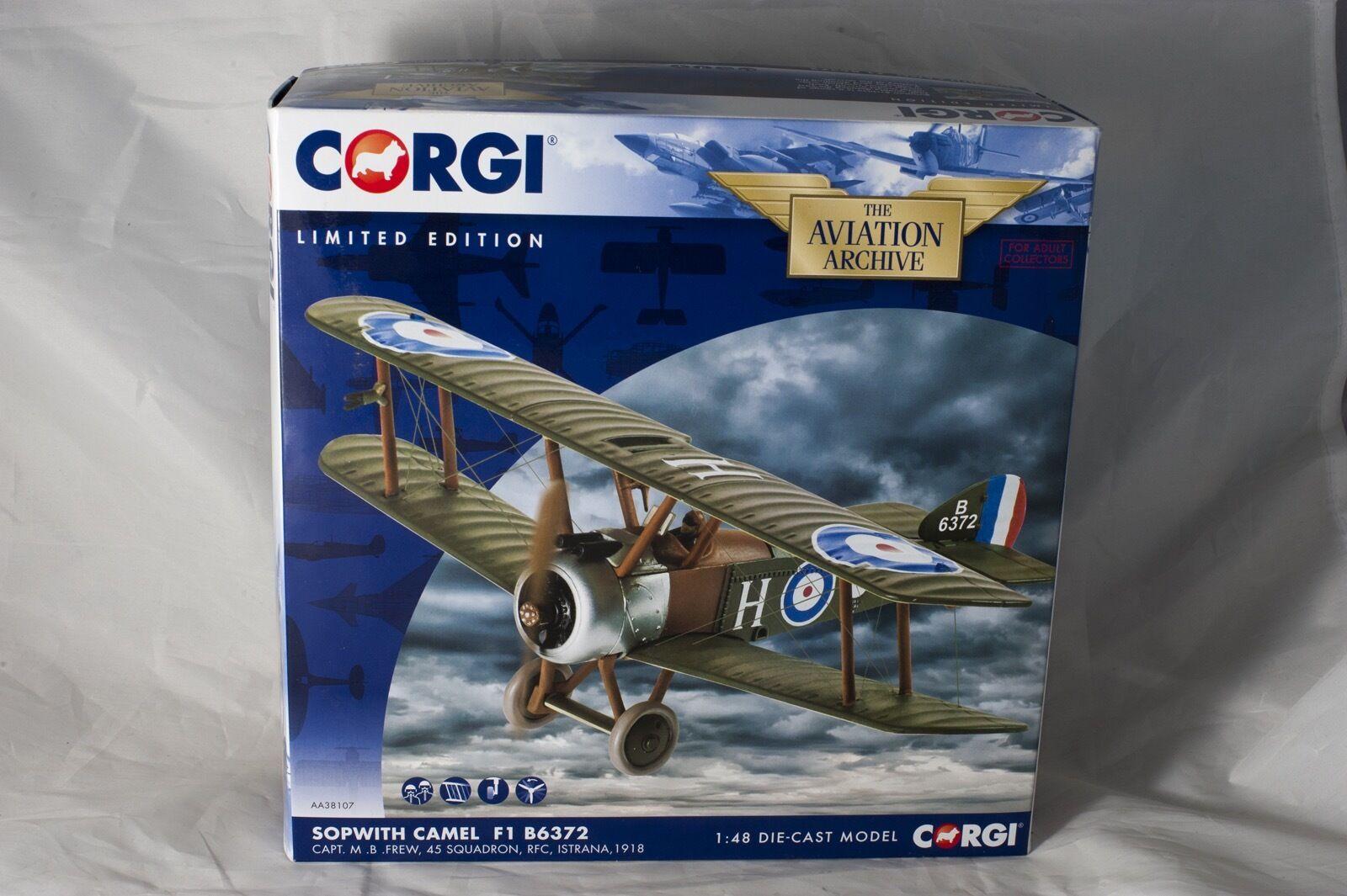 Corgi Sopwith Camel F1 B6372 Capt. M. B. Frew, 45 Squadron RFC 1 48 B BBAA38107