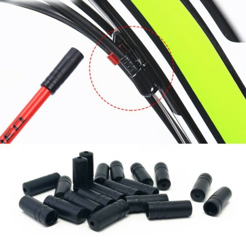 NEW 50//100Pcs Bike Bicycle Brake Gear Brake Cable Tips Ferrules Ends Caps Crimps