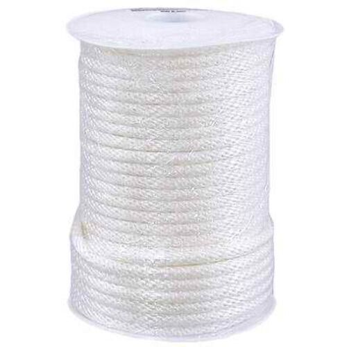 WELLINGTON CORDAGE 10164 3 8-Inch X 125-Feet White Nylon Cord