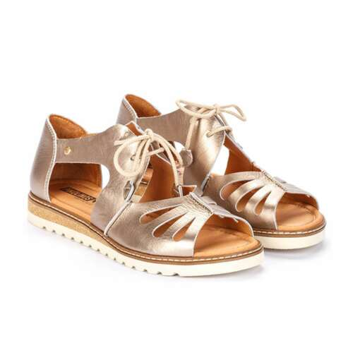 NEW Pikolinos Women's Alcudia Lace-Up Open Toe Sandals