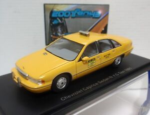 Chevrolet Caprice Berline Taxi New York 1991 Modèles 1/43 Bos