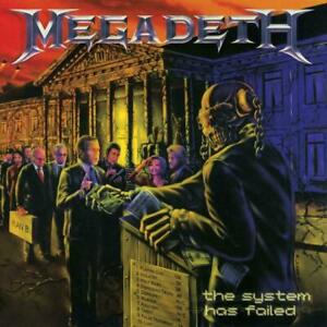 MEGADETH THE SYSTEM HAS FAILED CD (2019 Remaster with ...