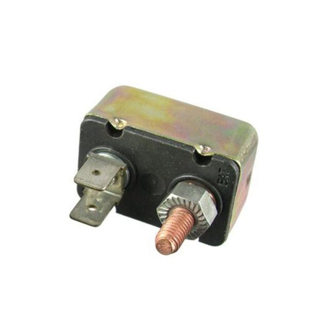 SHORT STOP CIRCUIT BREAKER 50A METAL RT BRACKET TYPE 1 12V BP//CBC-50B-RP