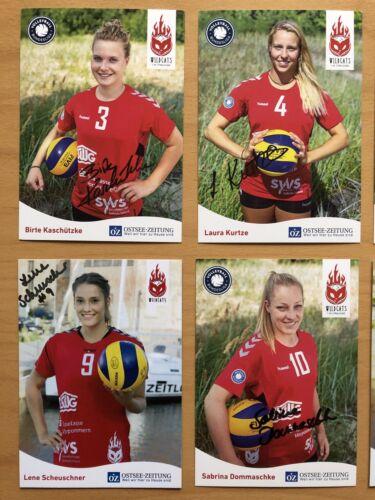 VC Stralsund Wildcats Frauen Autogrammkarten 2018-19 original signiert 13 AK 1