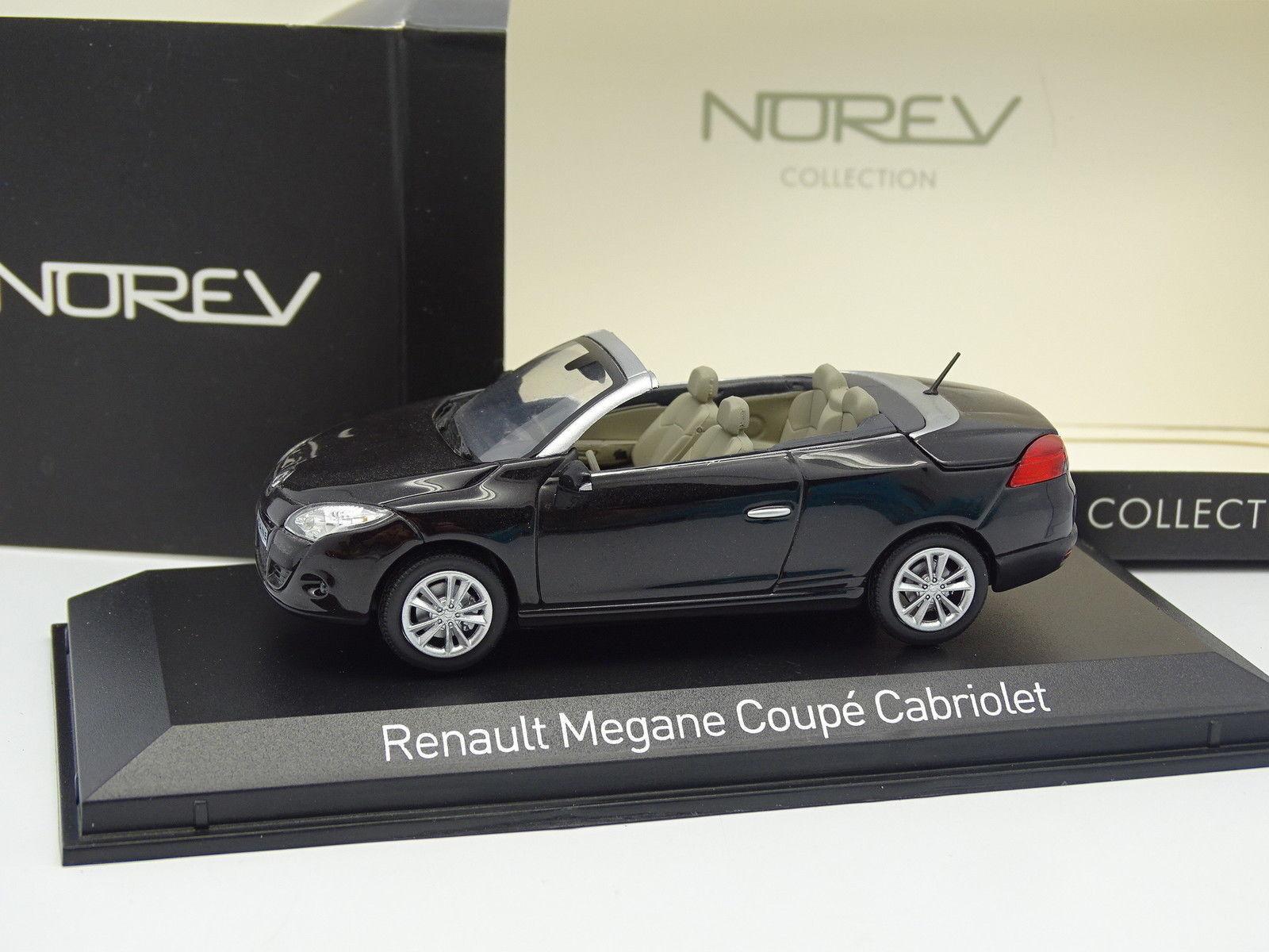 Norev 1/43 - Renault Megane CC neroe 2010