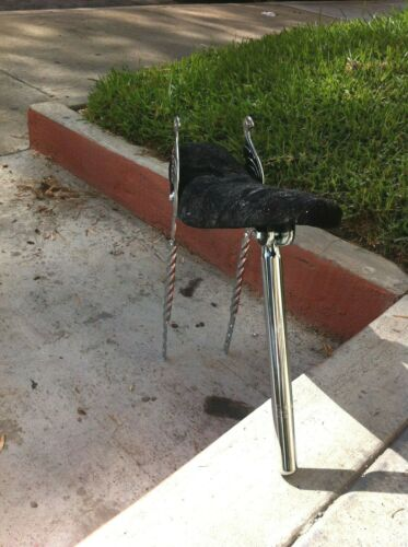 """CUSTOM Bicycle SissyBars Wing Style Square Twisted for 20/"""" Lowrider Cruiser Bike"""