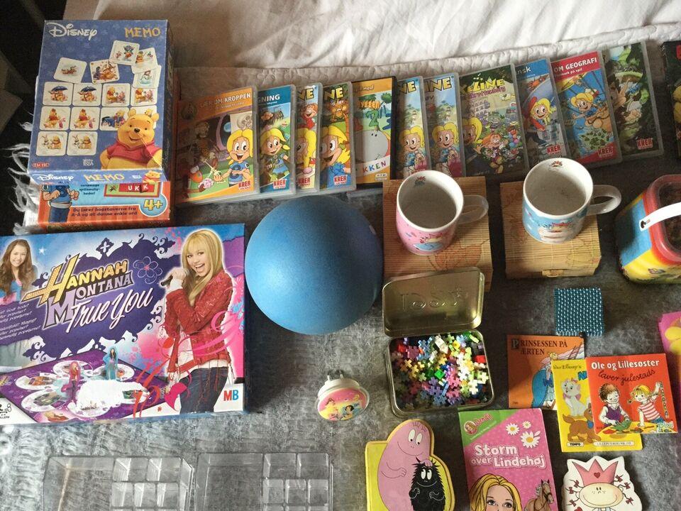 Blandet legetøj