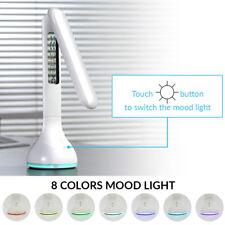 2pack Desk Lamp 4 Reading Dimmable LED Light Digital Clock Screen Calendar