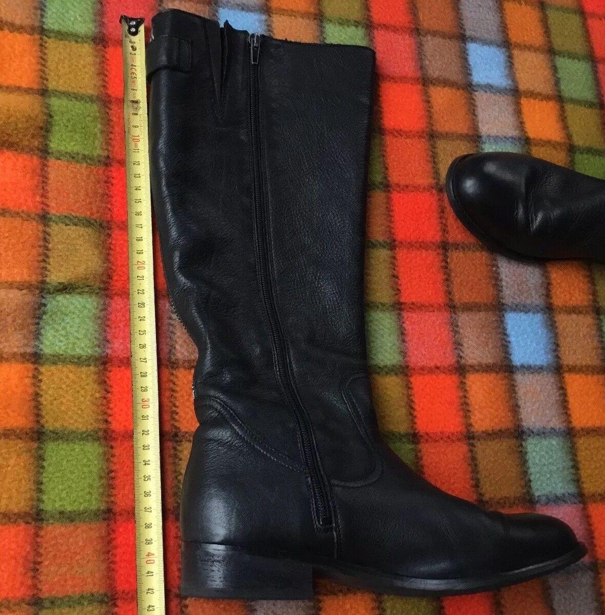 Görts schuhe 39 Damen Stiefel Schwarz Schwarz Schwarz Top Leder Top Zustand NP 179   2d1e00