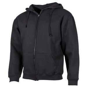 Kapuzen-Sweatshirt-Jacke-034-PC-034-340-g-m-schwarz-GR-S