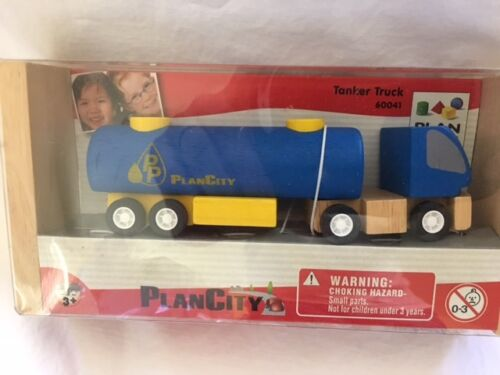 Plan Toys Wooden Toy Tanker Truck