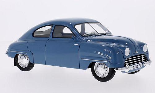 Wonderful modelcar SAAB 92B 1952 - lightblu  - scale 1 18 - ltd.ed.