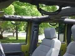 Jeep Wrangler JK JKU Accessories Set of 4 Grab Handles Smittybilt 2 Or 4 Door