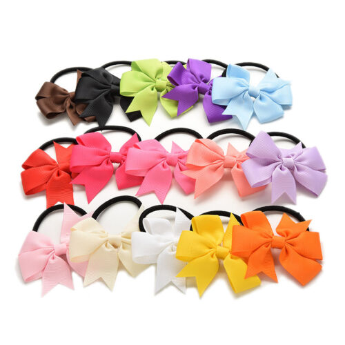 15 Pcs Baby Girl Hair Tie Ponytail Holder Hair Accessories  Kids Wholesale In UK