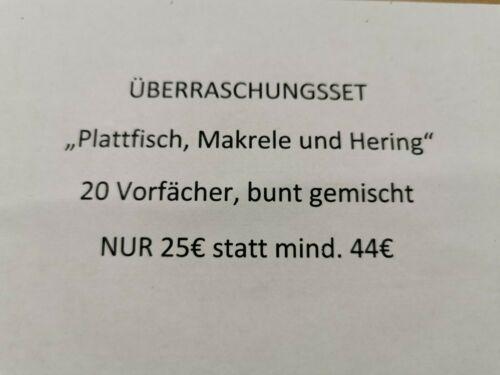 Überraschungsset 20 Paternoster im Set Hering Makrele Platte Wert 40€ für 25€