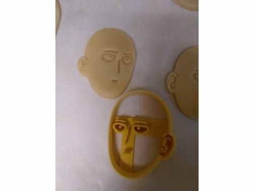 Saitama One Punch Man Cookie Pastry Biscuit Cutter Icing Fondant Baking Bake Fun