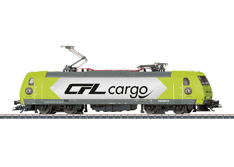 Märklin 36632 E-Lok BR 185 delle CFL Cargo MFX SOUND metallo  neu in OVP