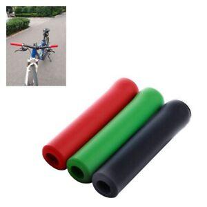 Lenker-Griffe-Scooter-BMX-MTB-Mountainbike-Fahrrad-Zyklus-Ultraleicht-Siliko-N1M