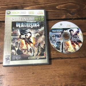 Dead Rising (Microsoft Xbox 360, 2006)- No Manual