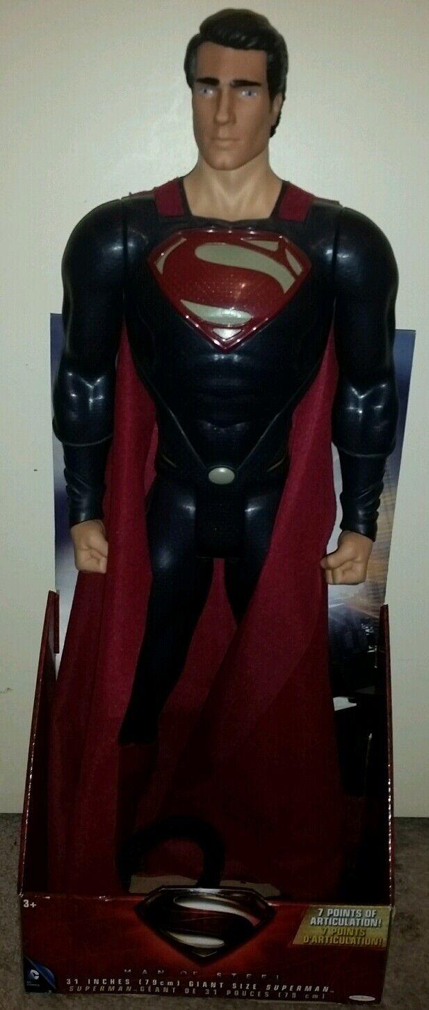 Dc comics 2013 31 zentimeter gigantische größe figur superman mann stahl feder